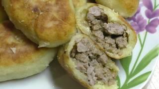 Картофельные зразы с мясом//Вкусные зразы из пюре с фаршем