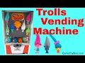 Dreamworks Series 2 Trolls Blind Bags Toy Vending Machine Opening Surprises for Kids Fun Playing