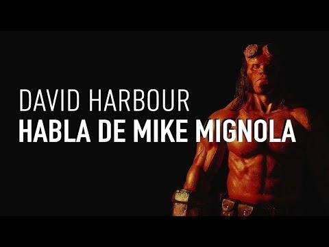 David Harbour nos habla de su relación con Mike Mignola