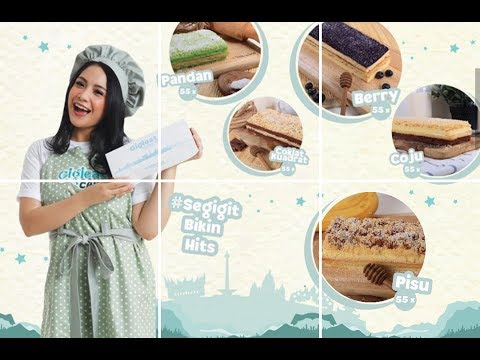 Unboxing and Review Gigieat Cake Cokelat Keju