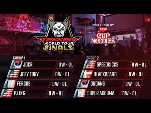 Aris Commentates Tekken 7 - Tekken World Tour Finals 2017, Group Play
