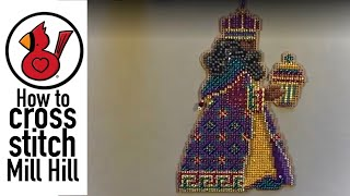 Video # 178 HOW TO CROSS STITCH: MILL HILL BEADED KITS