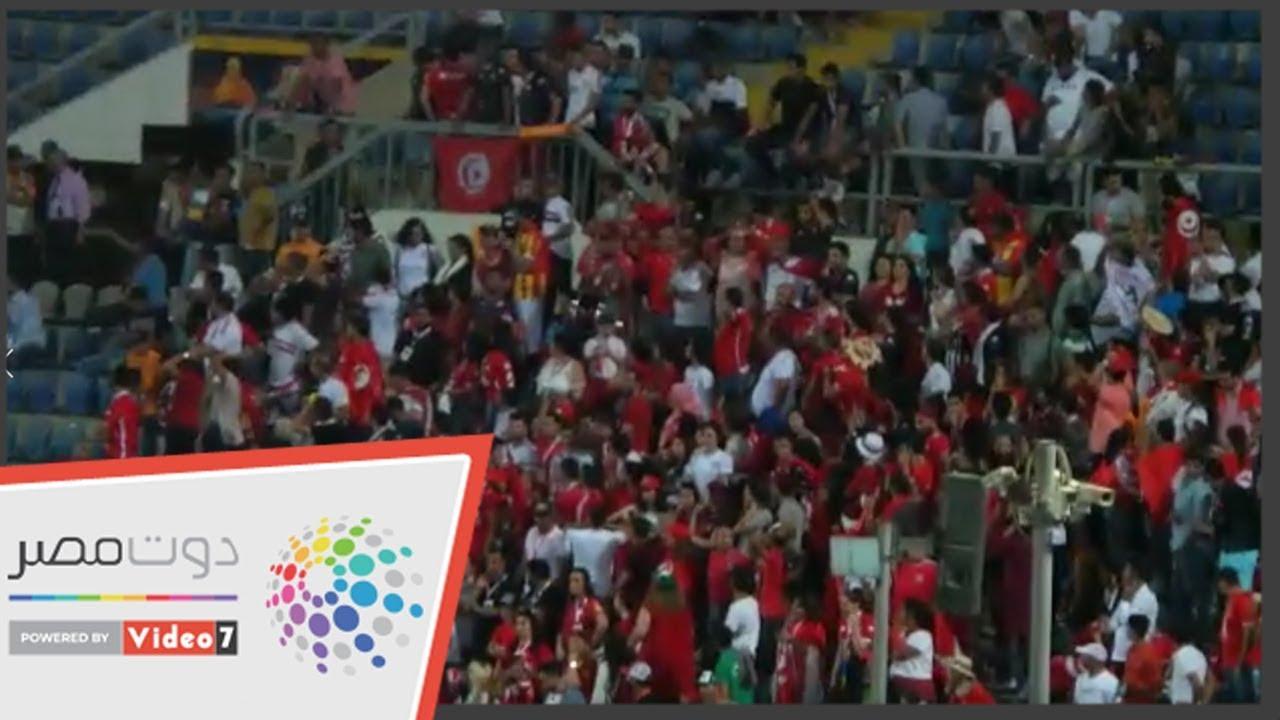 اليوم السابع :فرحة هستيرية لجماهير تونس عقب إهدار السنغال ركلة جزاء