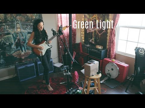 "Diana Rein - One Woman Band - ""Green Light"" (Live Studio Recording)"
