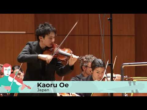 2019 Finals – Kaoru Oe – with  the Munich Radio Orchestra, Conductor: Domonkos Héja