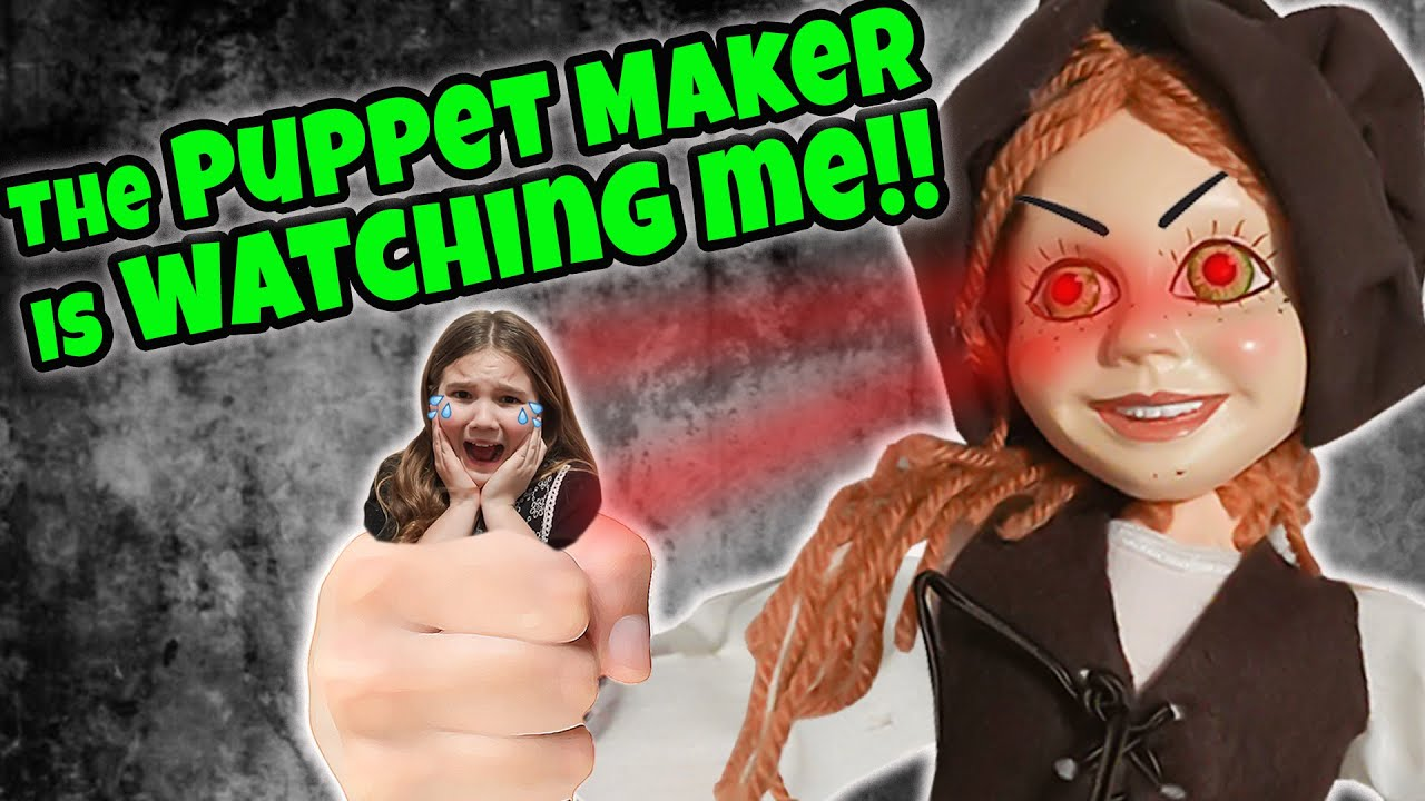 The Crazy Puppet was WATCHING Me! Escape The Crazy Doll!