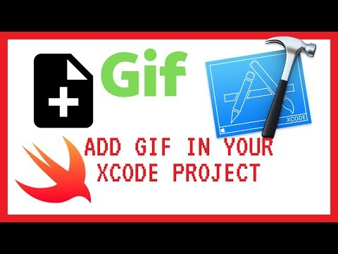 Add GIF to your iOS App  - Tutorial - (Swift 4 in Xcode) thumbnail