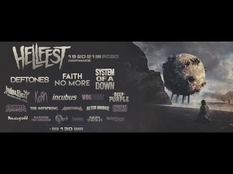 'Hellfest Open Air' 2020 full line up dates and stages announced..!