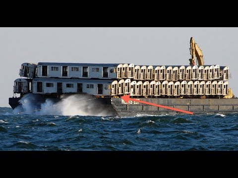 Old Structures Are Being Sunk To Create Astounding Artificial Reefs !
