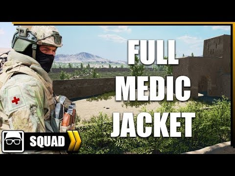FULL MEDIC JACKET | Squad gameplay FR