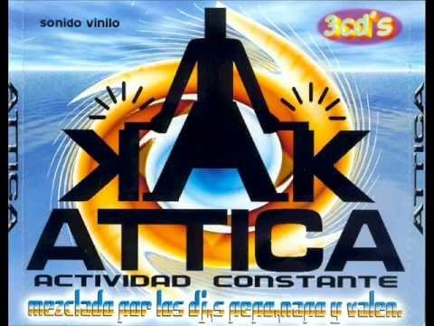 Attica actividad constante Cd1 DJ Pepo. Attica Abajo - Verano Del 90 (2000)