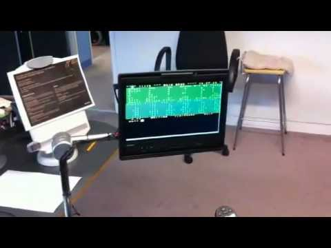 Stephen Hawking Using Voice Synthesizing Software