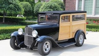 1930 Ford Woody  Custom Wagon Classic Muscle Car For Sale In Mi Vanguard Motor Sales
