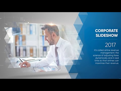 clean corporate slideshow ( after effects project files ) ☆ ae, Presentation templates