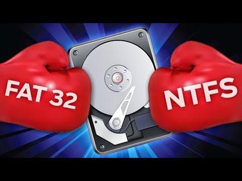 Какая файловая система лучше FAT32 или NTFS