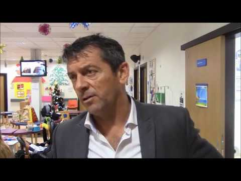 Phil Brown talks to Blues at Southend Hospital