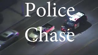 California Highway Patrol Chases Nissan Frontier with Dog In It - Sept 8th 2017