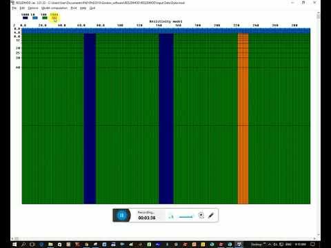 Res2dmod Software - Forward modelling for DC resistivity method