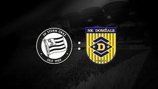 Spielaufzeichnung: Sturm Graz 1:1 NK Domzale (1:0)