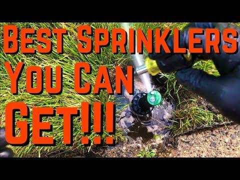How To Adjust Rainbird Rotating Sprinkler Heads