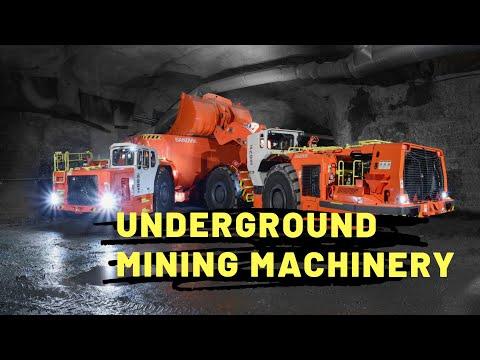 Underground Mining Machines | Machines That Makes Tunnel