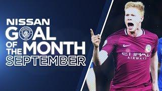 DE BRUYNE, AGUERO, SANE & DELPH! | Goal of the Month - September.