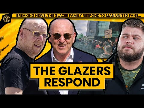 The Glazers Respond To Manchester United Fans… | Howson's Brew
