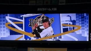 2013年9月8日(日)京セラドーム大阪のオリックス・バファローズvs福岡...