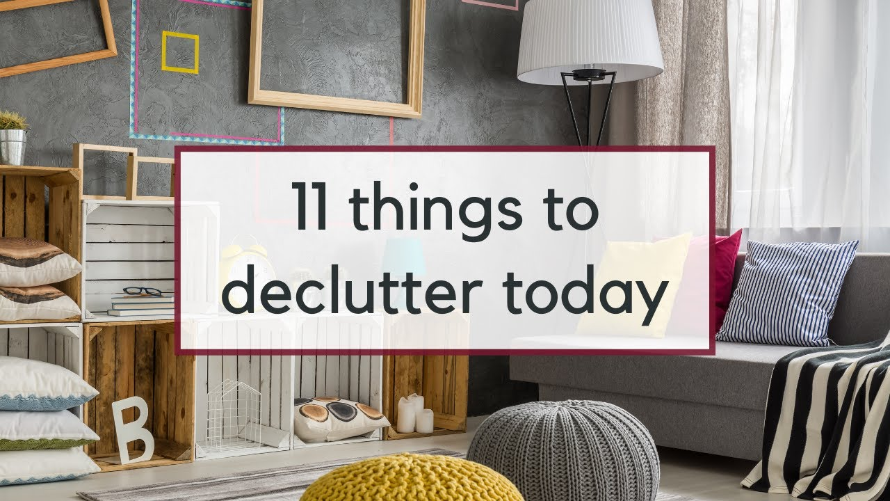 Things to Declutter in September | Easy Decluttering Ideas