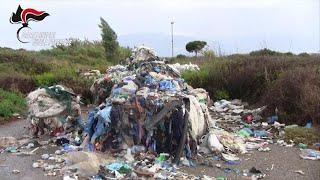 Il viaggio illecito dei rifiuti da Nord a Sud: