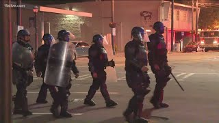 More police arrive downtown as looting, fires continue overnight in Atlanta