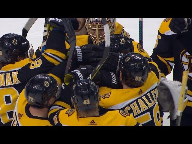 McAvoy, Rask lead Bruins to shootout win