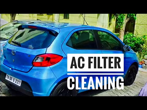 TIAGO AC Filter Cleaning!!