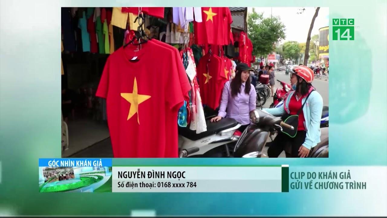 VTC14 | Sôi động thị trường áo cờ đỏ sao vàng trước trận chung kết của U23 Việt Nam