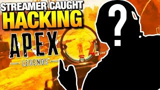 STREAMER EXPOSED FOR APEX LEGENDS AIMBOT!