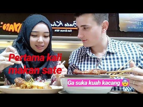 PERTAMA KALI DIA MAKAN SATE || LDR INDONESIA-TURKI
