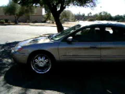 2004 Ford Taurus Ses 20s Tint Low Profile Kar Klub Youtube