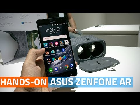 Asus ZenFone AR Hands-On | World