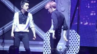 151017 The EXO'luXion in GUANGZHOU play boy  (Baekhyun focus)