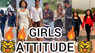 | 🔥 GIRLS ATTITUDE TIKTOK VIDEO 🔥 NEW ATTITUDE VIDEO 🐯 | BEST VIRAL ATTITUDE TIKTOK VIDEO 😎 |