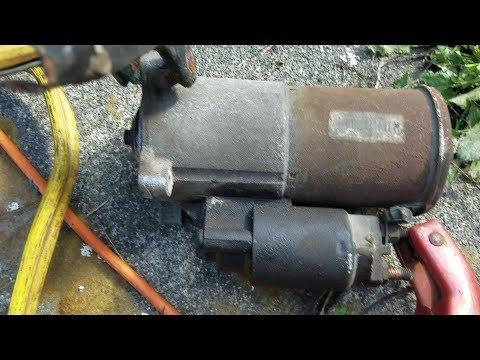 F 250 Starting Motor Replacement