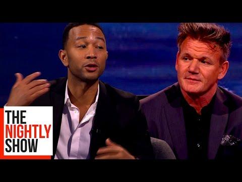 John Legend Explains The La La Land Oscars Mix Up To Gordon Ramsay