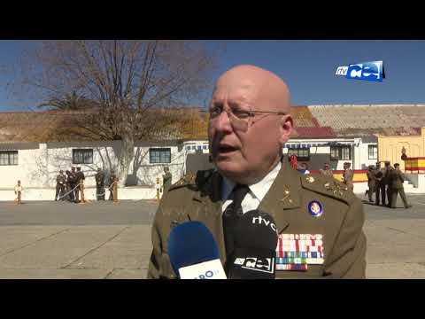 Despedida del Comandante General de Ceuta, Luis Cebrián Carbonel