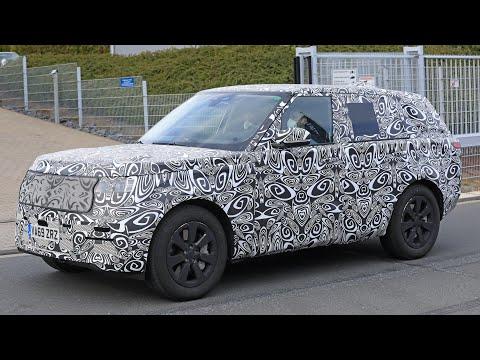 New 2022 Range Rover - Новый Рейндж Ровер