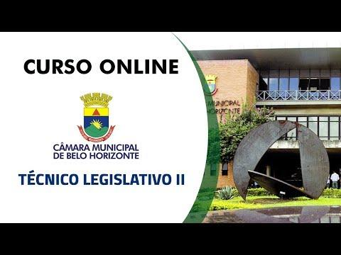 Curso Online - Câmara Municipal de Belo Horizonte 2017 - Técnico Legislativo II