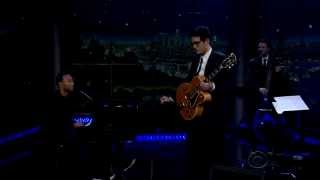 John Legend & John Mayer - Lilac Wine HD (During The Late Late Show)