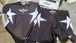 Elite Sports MMA Shorts & Rash Guard Unboxing and Review.