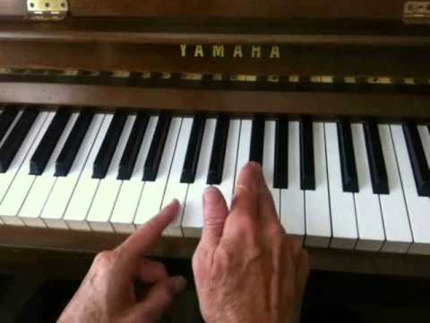 Major Scale Game for the Piano (Flat Keys)