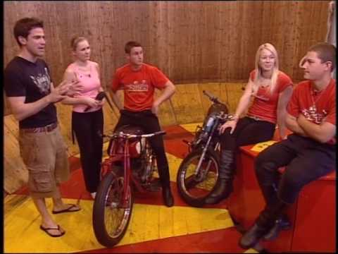 Wall of death part 1 Blue Peter Zöe Salmon