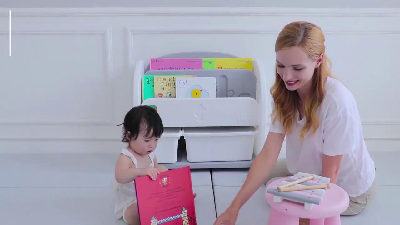 Детский стеллаж iFam Easy Doing для игрушек и книг
